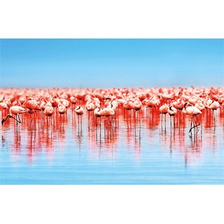 MondiArt Bild A Lot Of Flamingos